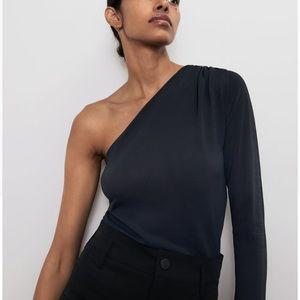 Flattering NEW Zara One Shoulder Top